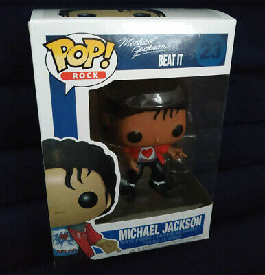 Funko Pop! Michael Jackson Beat It Vinyl Figure #23 In Box