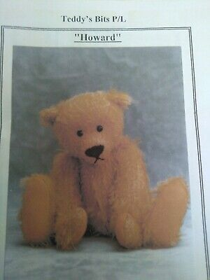 Craft room clean out - Teddy Bear Pattern - Howard by Teddys Bits