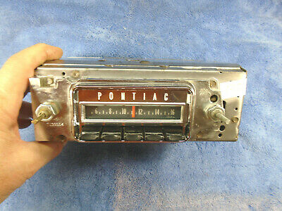 SERVICED w/WARRANTY 66 PONTIAC GTO LEMANS DELCO RADIO 1966 # 7293502 TEMPEST