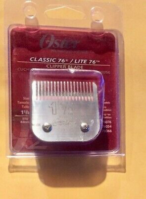 Oster 076918-116-005 clipper Blade Size 1.5 (4 mm)