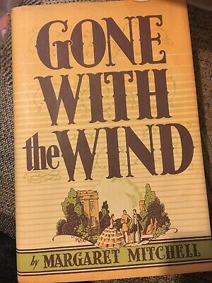 GONE WITH THE WIND by Margaret Mitchell 1964 HC/DJ Macmillan