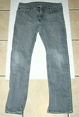 boys 16 Reg 28x28 Levi's 511 slim fit gray jeans