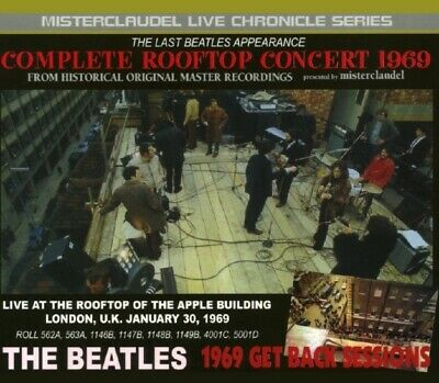 The Beatles Complete Rooftop Concert 1969 The Beatles 3CD