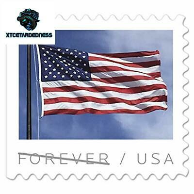 2019 US Flag Book of 20 USPS Forever First Class Postage Stamps Patriotic Americ