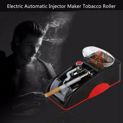 Automatic Cigarette Rolling Machine Tobacco-Maker Electric Roller Injector Tubes