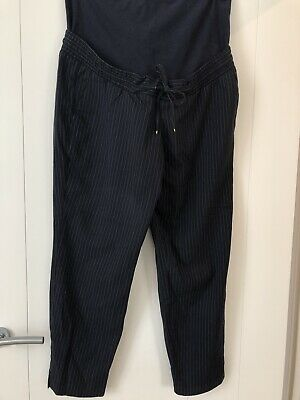 Maternity Navy Work Formal Trousers mama H&M,M