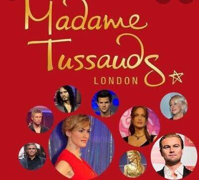 Madame Tussauds London 4 x tickets only for saturday 25 January 2020