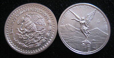 Mds Mexique Mexico Libertad 2018, 1/20 Once Argent