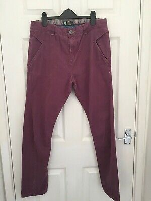 Next Originals Boys Mauve Slim Tapered Leg Jeans Size 15 years