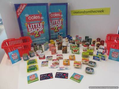 2019 Coles Little Shop 2 - Mini Collectables - choose your collectable