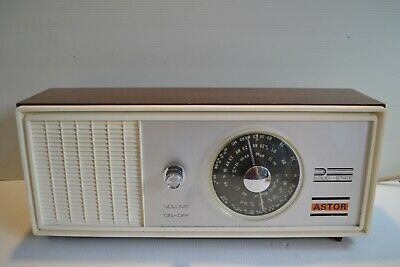 Collectable Astor Mbo21 Transistor Mantel Radio