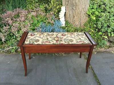 Lovely Antique Bedroom Stool/ Double Piano Stool!