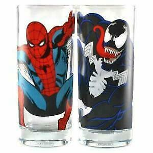 Spider-Man and Venom Glass Set