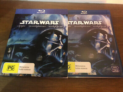 Star Wars Original Trilogy Aus Blu Ray A New Hope Return Of The Jedi Empire