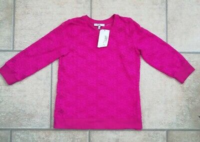 BNWT Girls M&S 2 Part Pink Lace Top & Camisole Age 12-13 Years