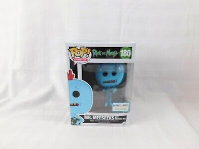 Pop Animation Rick And Morty Mr Meeseeks exclusive # 180 vinyl Figure Funko