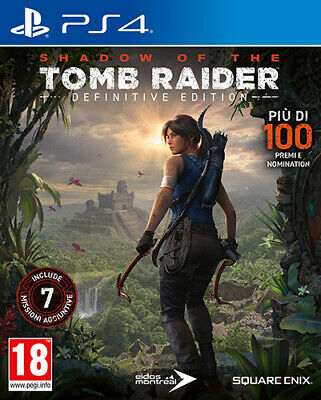 Shadow Of The Tomb Raider Definitive Edition PS4 Playstation 4 SQUARE ENIX