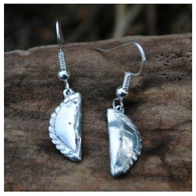 Highly Polished Pewter Puffin Earrings Made in Cornwall Gift Boxed