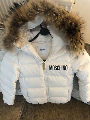kids moschino coat girls age 6