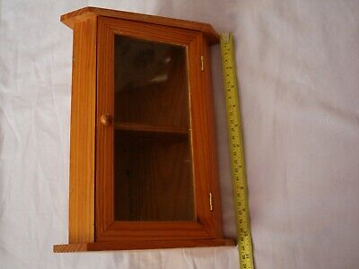 Wooden Small Corner Cabinet Display Unit