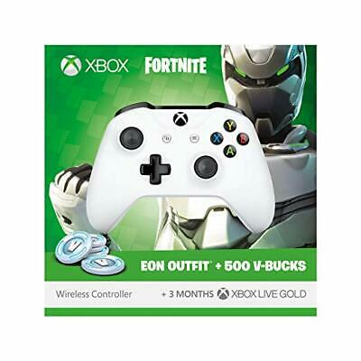 Microsoft Xbox One White Fortnite Controller - Refurb. - Doesn't Include Codes