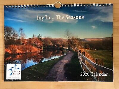 2020 Joy in The Seasons (Saddleworth) Calendar for Invest in ME Research Charity