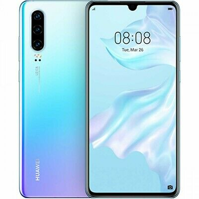 Huawei P30 ELE-L09 - 128GB - Breathing Crystal (Unlocked) (6GB RAM) New Sealed