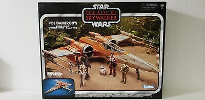 Star Wars Vintage Collection The Rise of Skywalker Poe Dameron's X-Wing Fighte