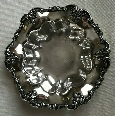 THEODORE B. STARR #2365 Large Sterling Silver Bowl Weighs 627 grams No Mono