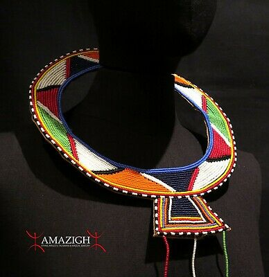 Fine Masai (Maasai) Wedding Necklace – Kenya