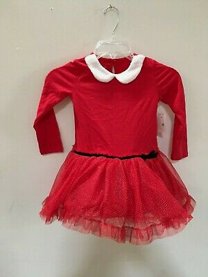 Holiday Editions Toddler Girls Red Christmas Dress Sz 4T