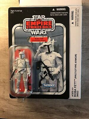 Star Wars Empire Strikes Back Mailaway Exclusive Boba Fett Prototype Armor VC61