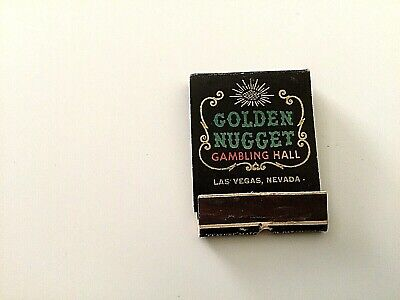 Golden Nugget Matchbook Las Vegas