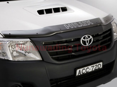 Toyota Hilux Tinted Bonnet Protector  Sept 2011 To July 2015 Pzq1589110
