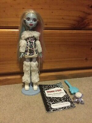 Monster High First Wave Abbey Bominable Doll VGC HTF