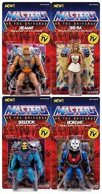 SHE RA Neo Vintage SUPER 7 NEW WAVE MOTU CLASSICS Masters of the Universe *RAR*