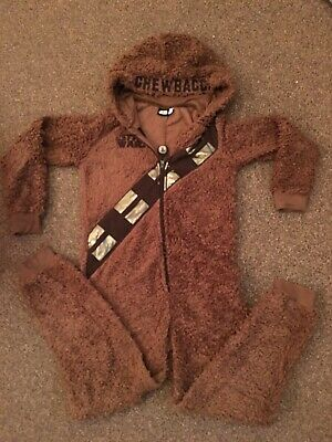 Chewbacca One Piece Age 11-12 Years All In One, Star Wars Jump Suit