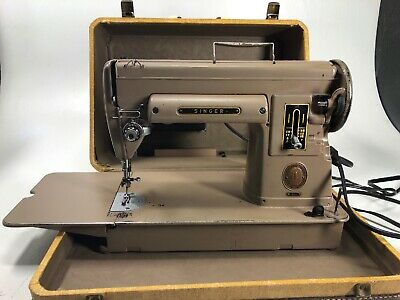 Vintage Singer 301 Sewing Machine With 160623 160742 160743 Accessories & Case