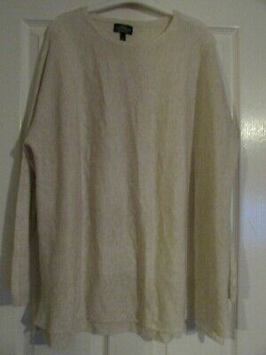ladies cream colour soft knitted maternity jumper by Topshop size 10,BNWT