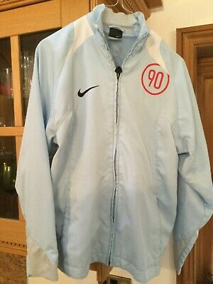 Nike Girls Casual Sport Running jacket pale blue And White age 12 - 13