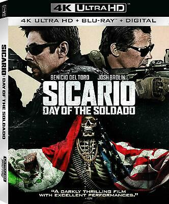 Sicario: Day of the Soldado Blu-ray - NEW FREE US SHIPPING