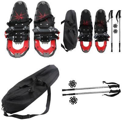 All Terrain Sports Snowshoes with Walking Poles Carrying Bag Durable Outdoor