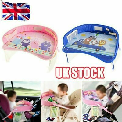 Kids Toddler Safety Car Seat Travel Snack Play Table Tray Drawing Board  HJ