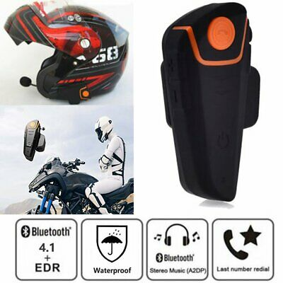 Motorrad Bluetooth Headset Helm Sprechanlage Gegensprechanlage Intercom FM BT-S2
