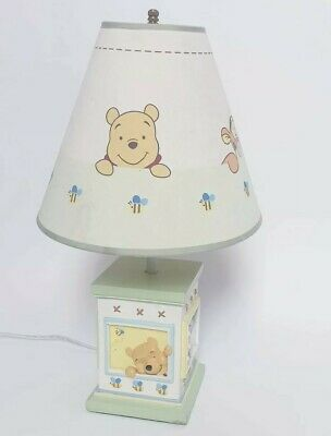 Disneys Winnie The Pooh Bedside Table Lamp Night Light Nursery Kids Lamp