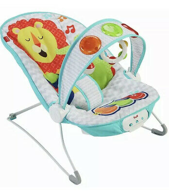 Fisher-Price Kick and Play Musical Bouncer