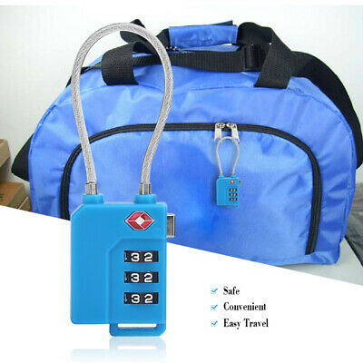3-digit Luggage Combination Password Lock for Travel Bag Suitcase Door Locker