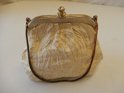 "Vintage, Antique ""Swains"" Silk? Ladies Evening Bag / Handbag."