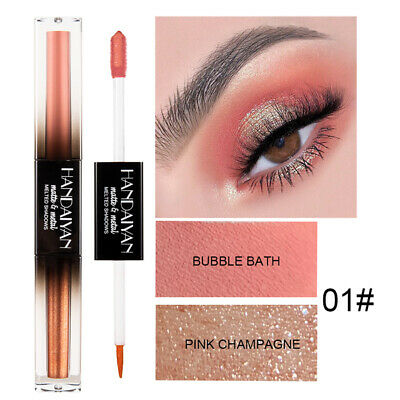 Double Headed Liquid Eyeshadow Matte Long Lasting Eye Shadow Makeup Stick
