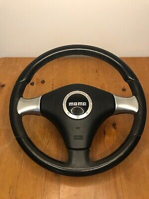 Daihatsu Trevis Momo leather steering wheel with airbag and control unit